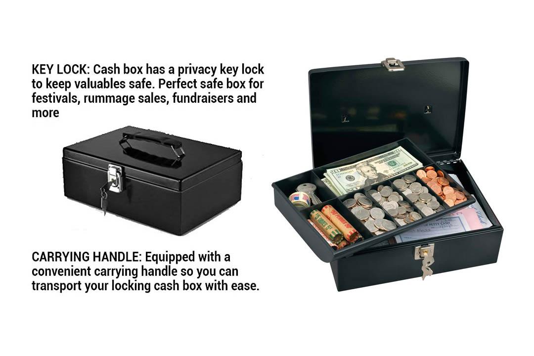 Master Lock 7113D Cash Box
