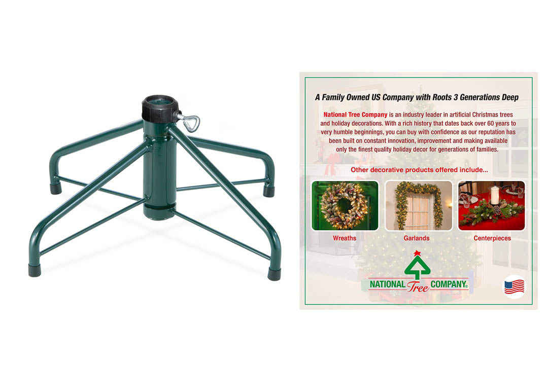 National Tree 16-Inch Folding Tree Stand