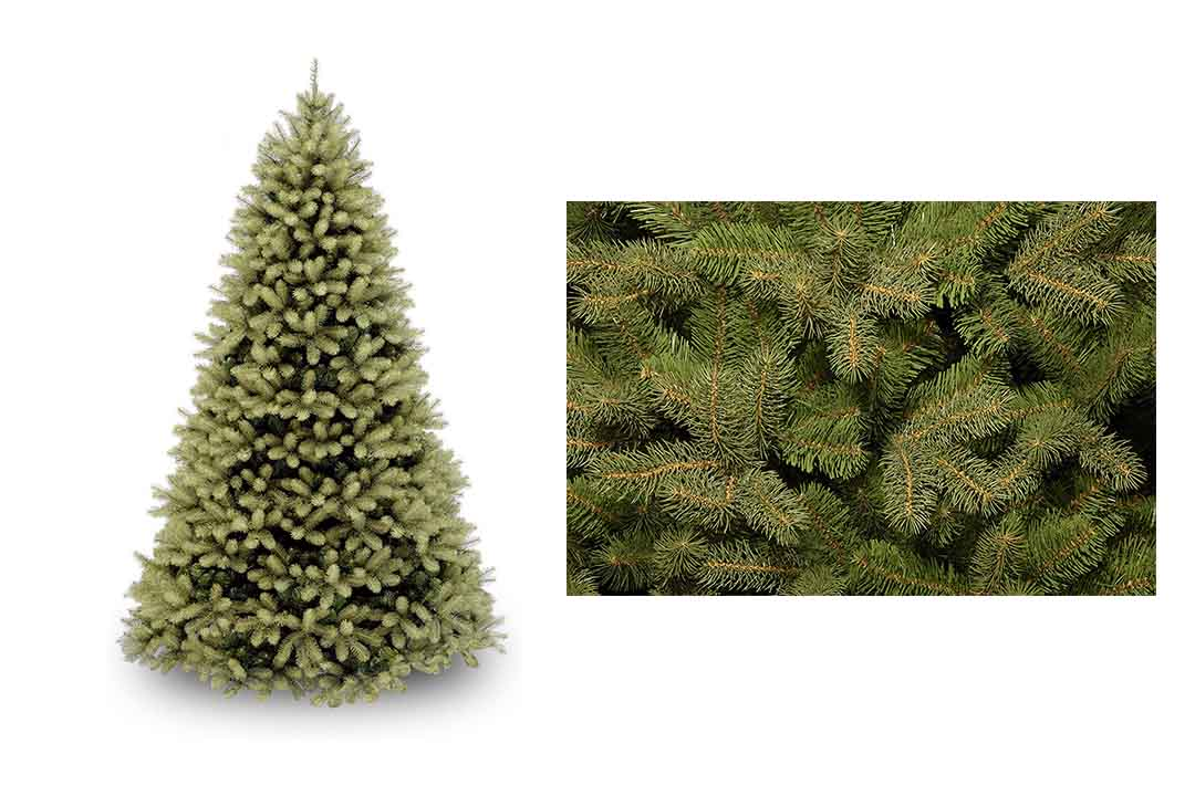 National tree 7.5 Ft Feel Real DownSwept Douglas Fir Tree
