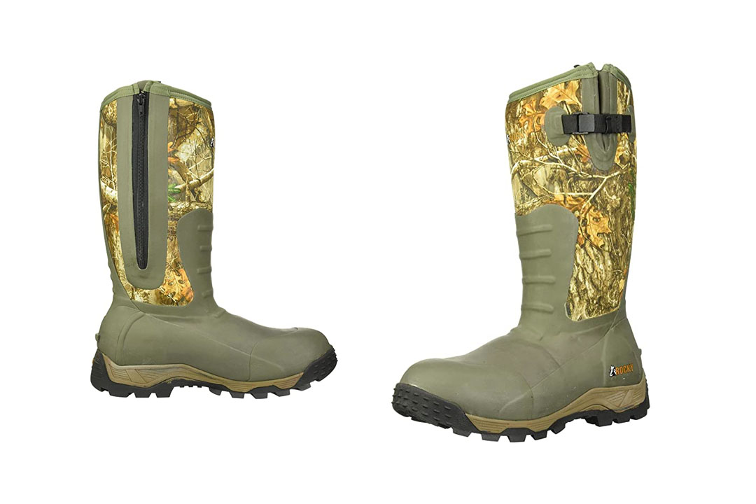 RCKY Men's sports Pro Rubber 1200g Insulated Waterproof Outdoor Boots