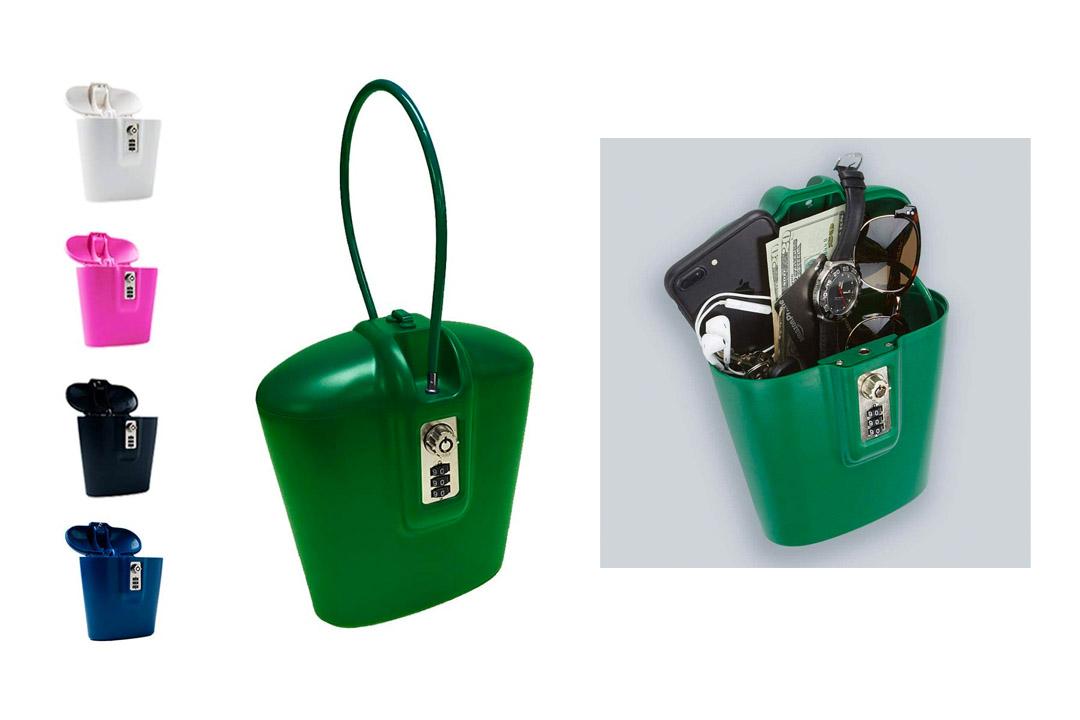 SAFEGO Portable travel lock box