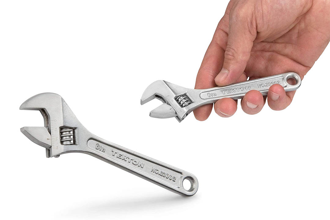 TEKTON 23002 6-Inch Adjustable Wrench
