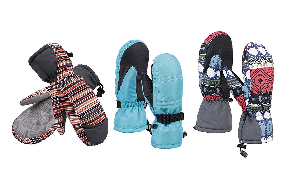 Women's winter snow Thinsulate Mittens