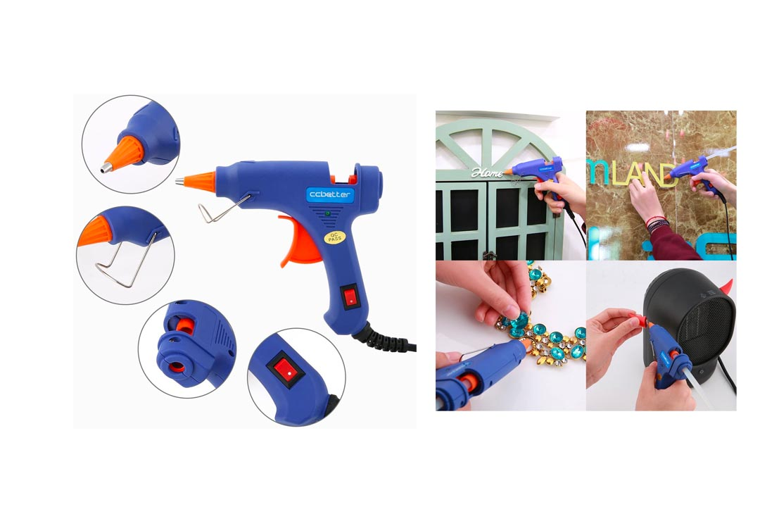 ccbetter Upgraded Mini Hot Melt Glue Gun