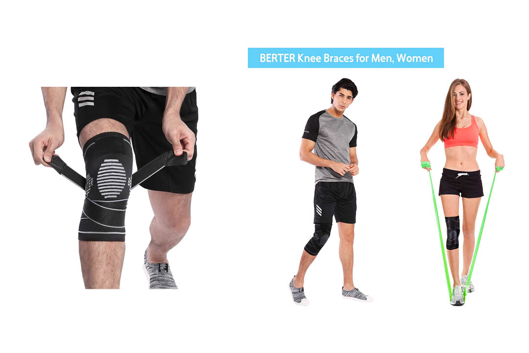 BERTER Knee Brace for Men Women