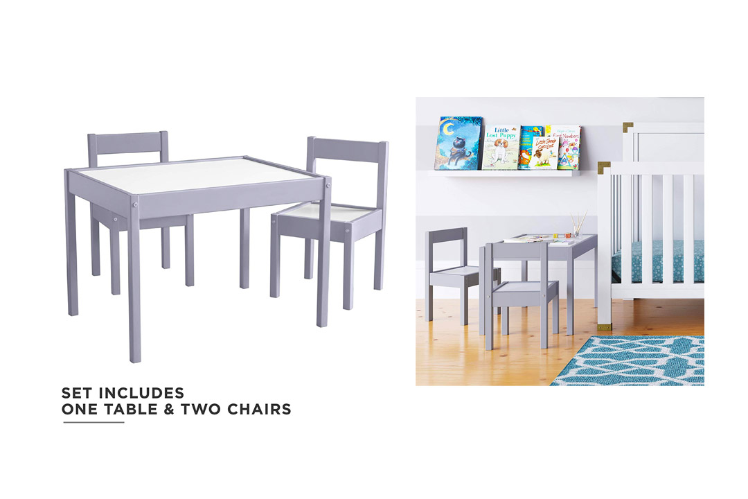Baby Relax Hunter 3-In-1 Piece Kiddy table with Chair set