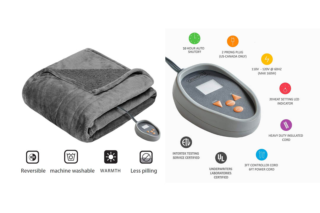 Beautyrest Heated Electric Blanket