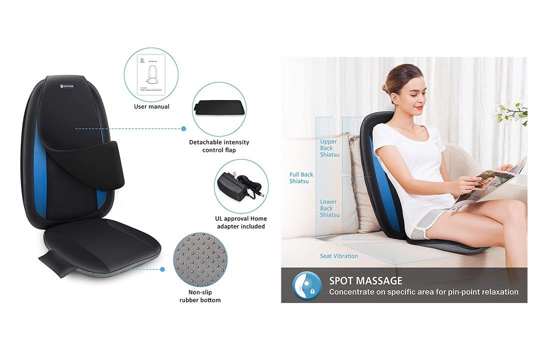 Comfier Shiatsu Back Massager with Heat