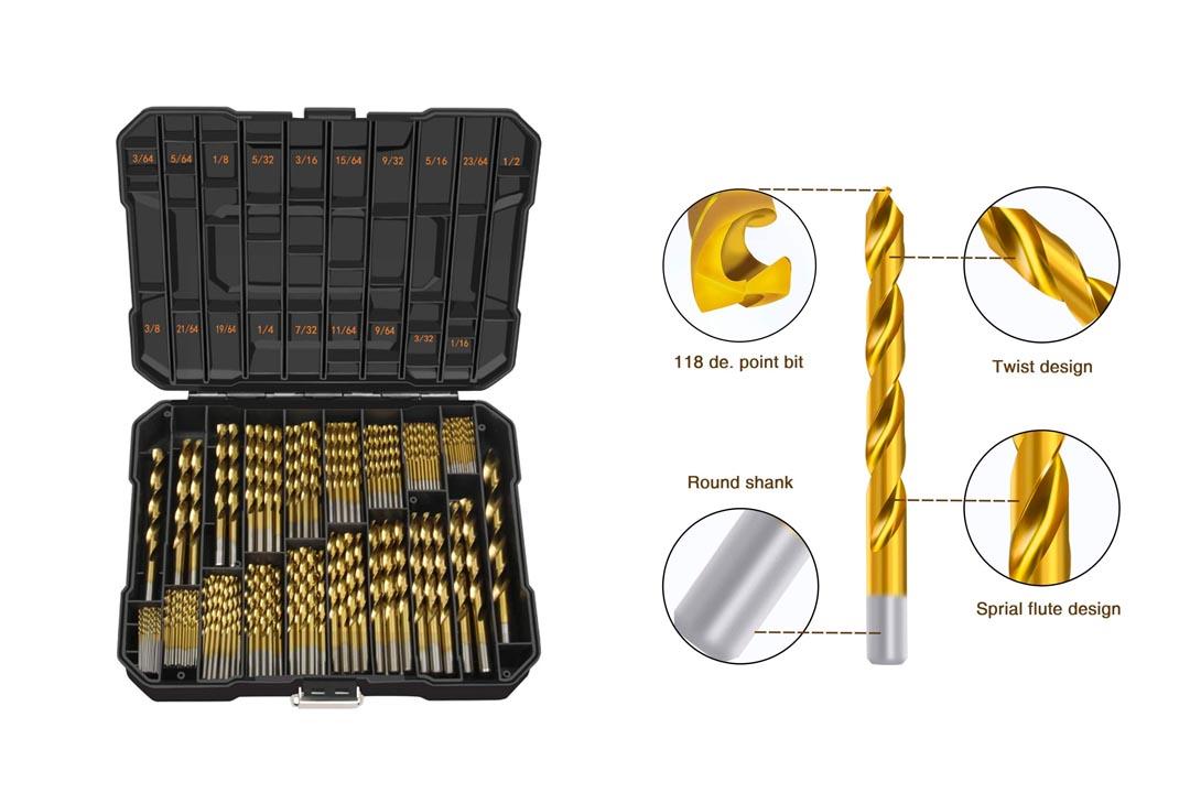 EnerTwist Titanium Drill Bit kit