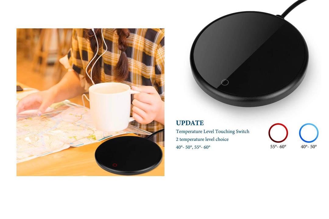LOSCATO Electric Mug Warmer for Office Home Desk