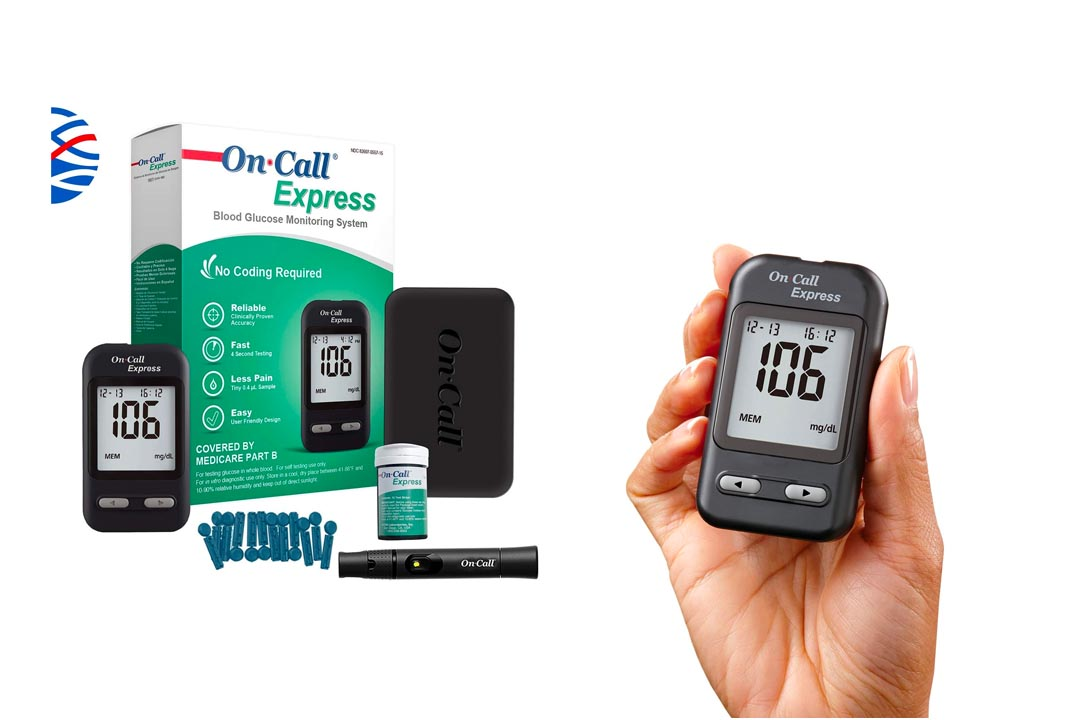 On Call Express Diabetes Testing Kit