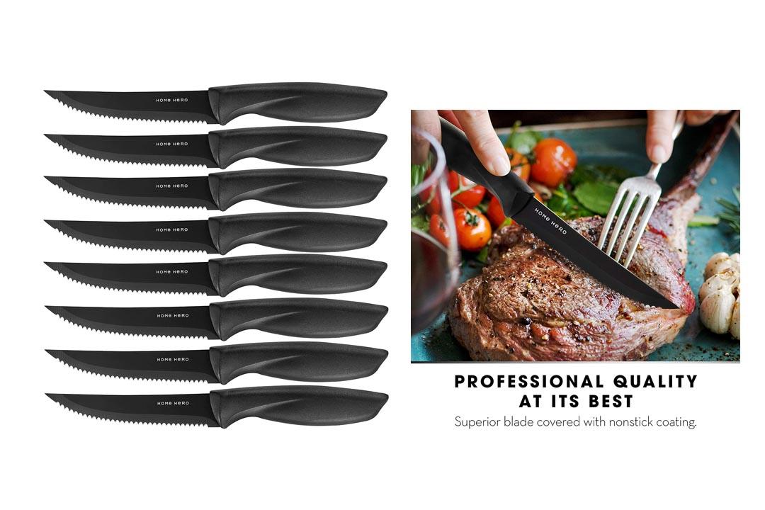 Serrated Steak Knives Dishwasher-safe