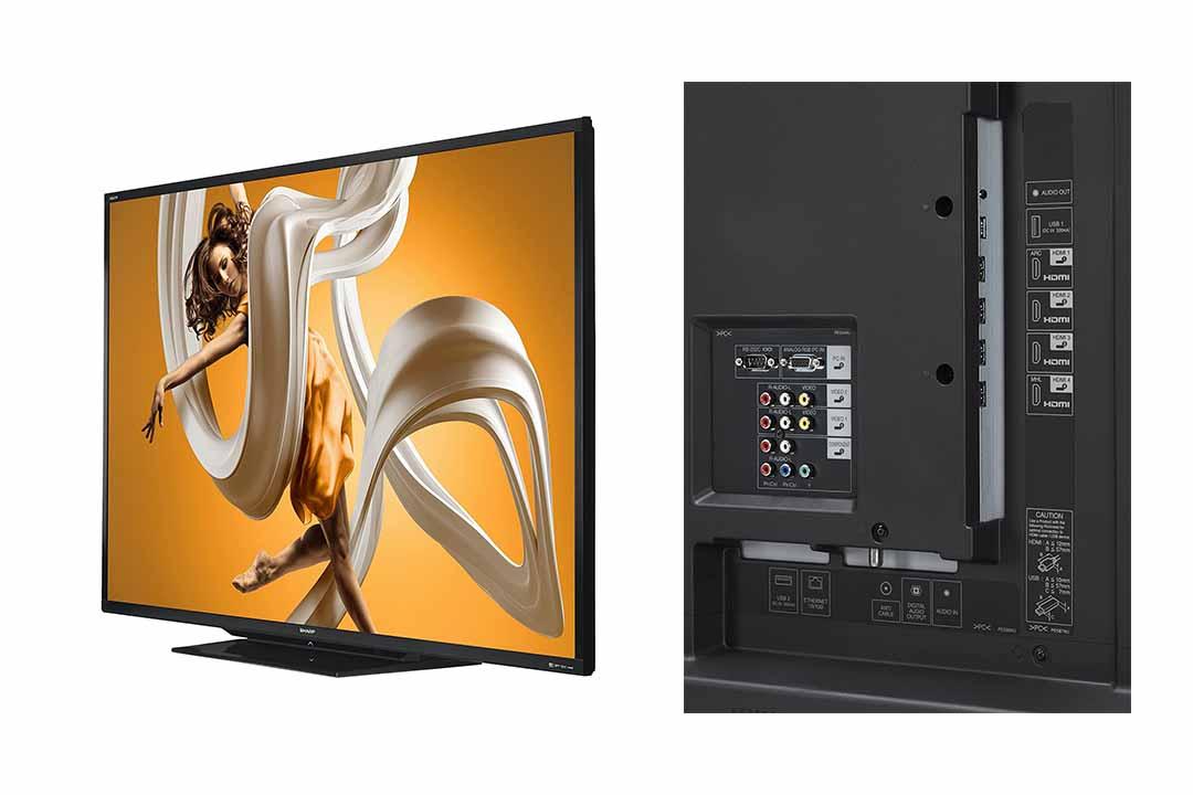 Sharp LC-90LE657U 90 Inch HD Smart LED TV