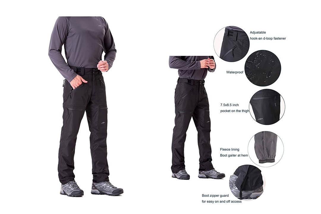 Trailside's Men's Snow Insulated Ski Pants