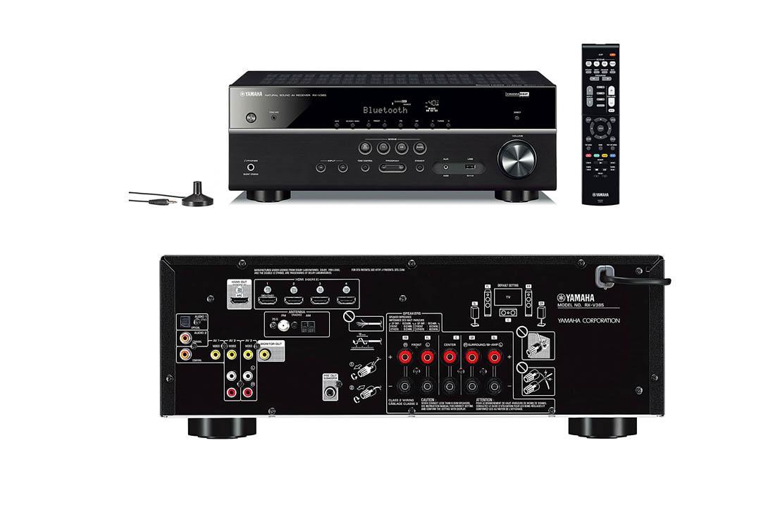 Yamaha RX-V385 5.1-Channel 4K