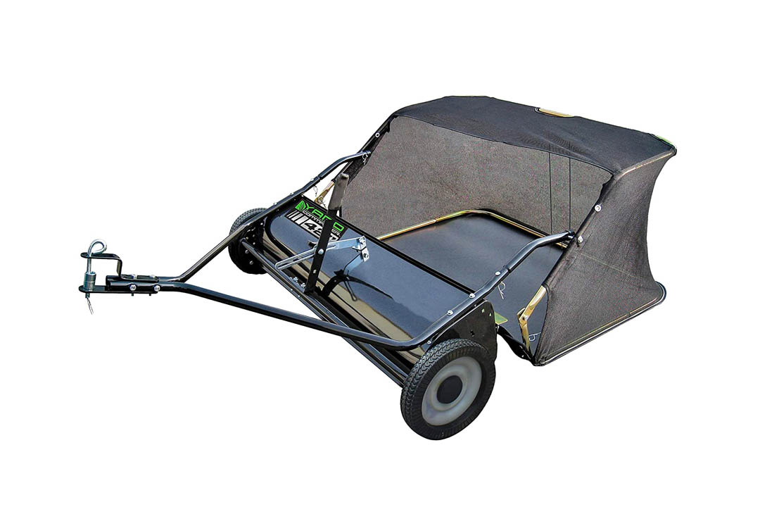 Yard Commander 42 Inch Tow behind lawn Sweeper