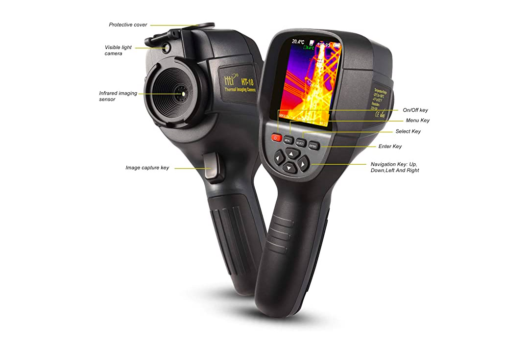 220 x 160IR Resolution Infrared Thermal Imager Handheld Camera