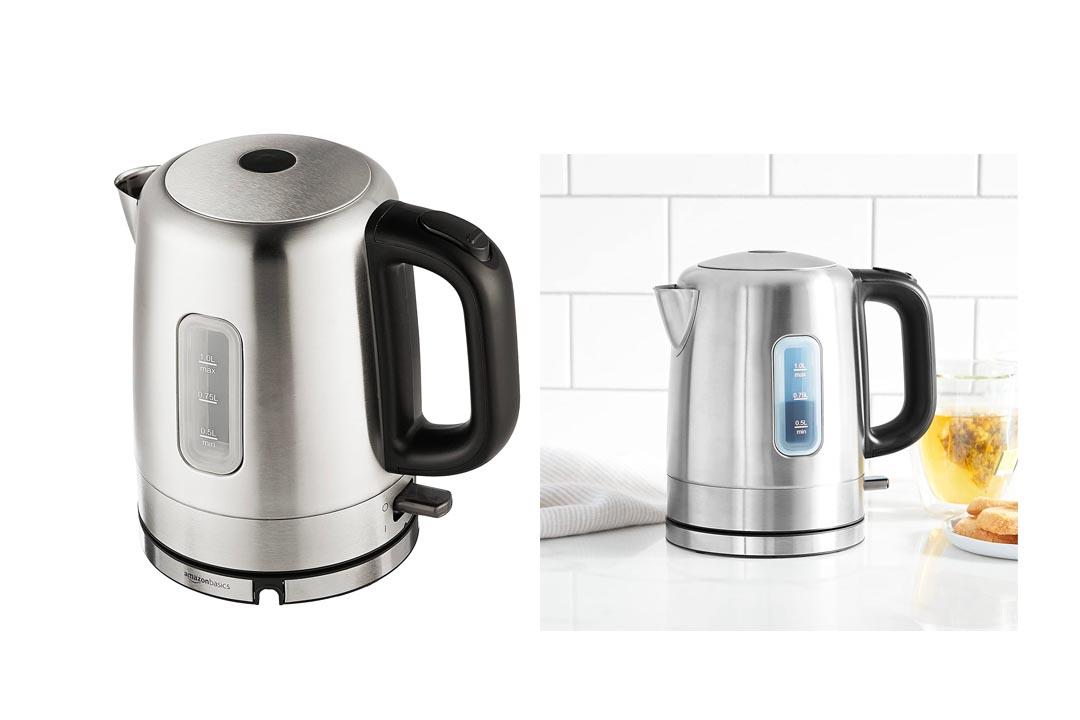 AmazonBasics Stainless Steel Hot Water Kettle