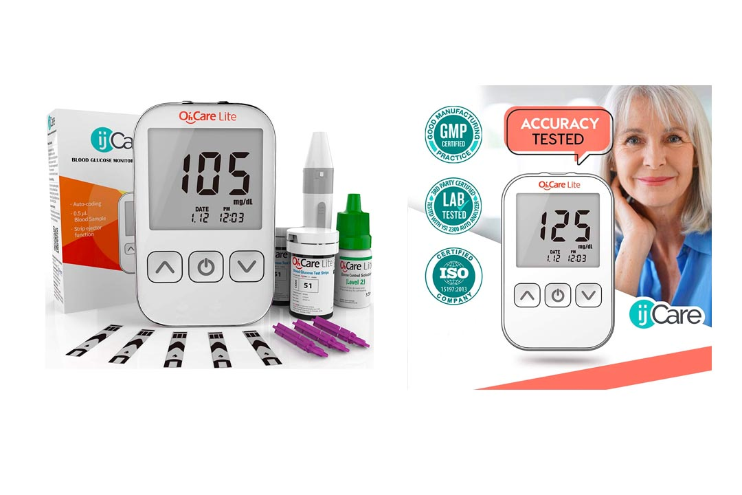 Oh'Care Lite Blood Glucose Monitor Kit