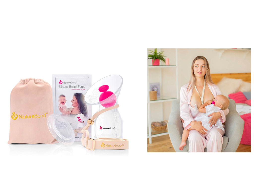 Silicone Breastfeeding Manual Breast Pump