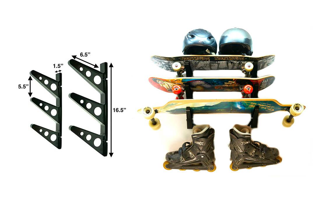 StoreYourBoard Ski also Snowboard Storage Rack