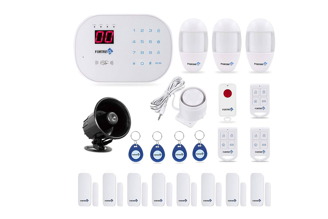 Updated S03 WiFi and Landline Security Alarm System