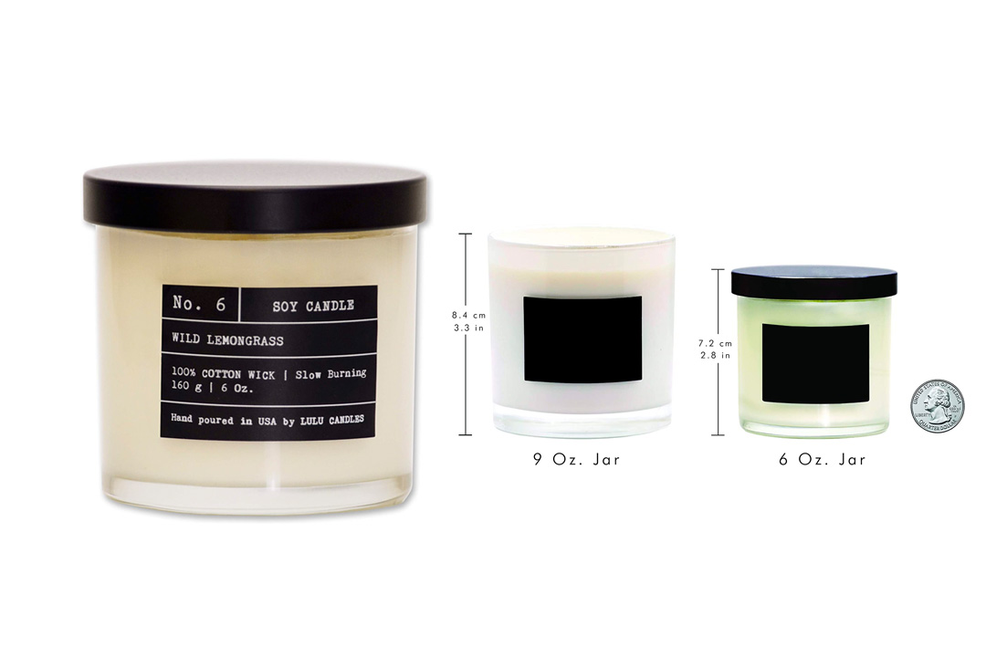 Wild Lemongrass | Luxury Scented Soy Jar Candle