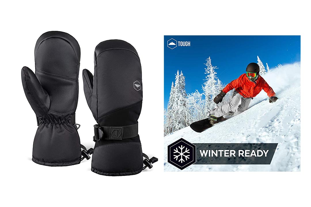 Winter Ski Mittens for Men and Women