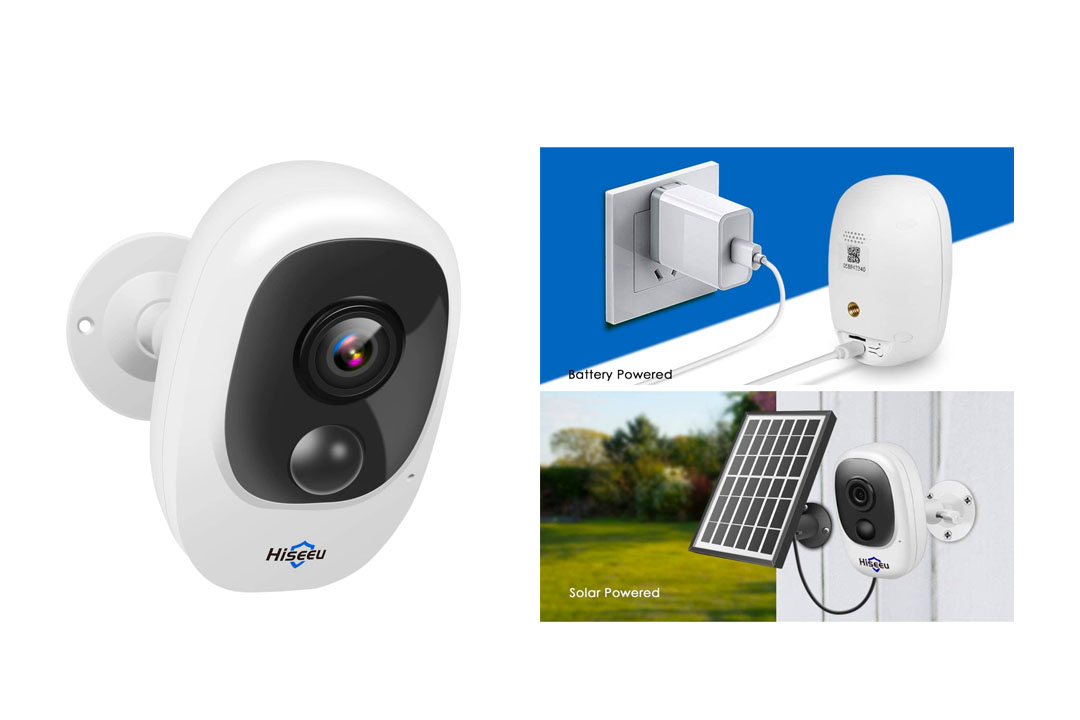 [32GB SD Preinstalled] Battery Powered Outdoor Camera