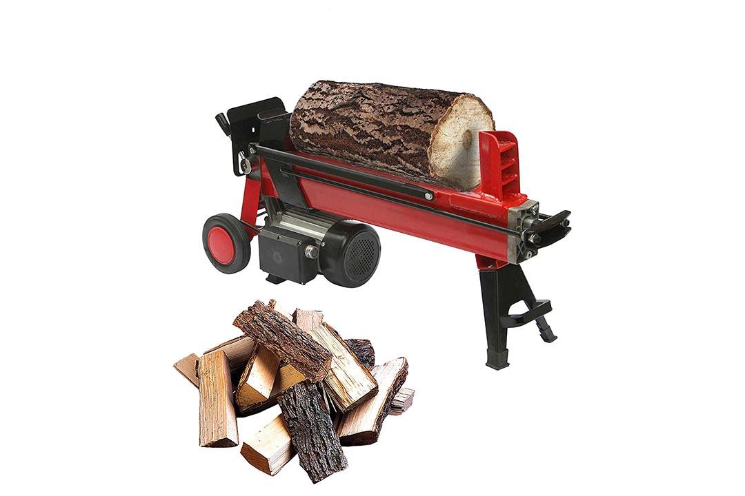 ALEKO 4-Ton Electric Log Splitter Wood Splitter