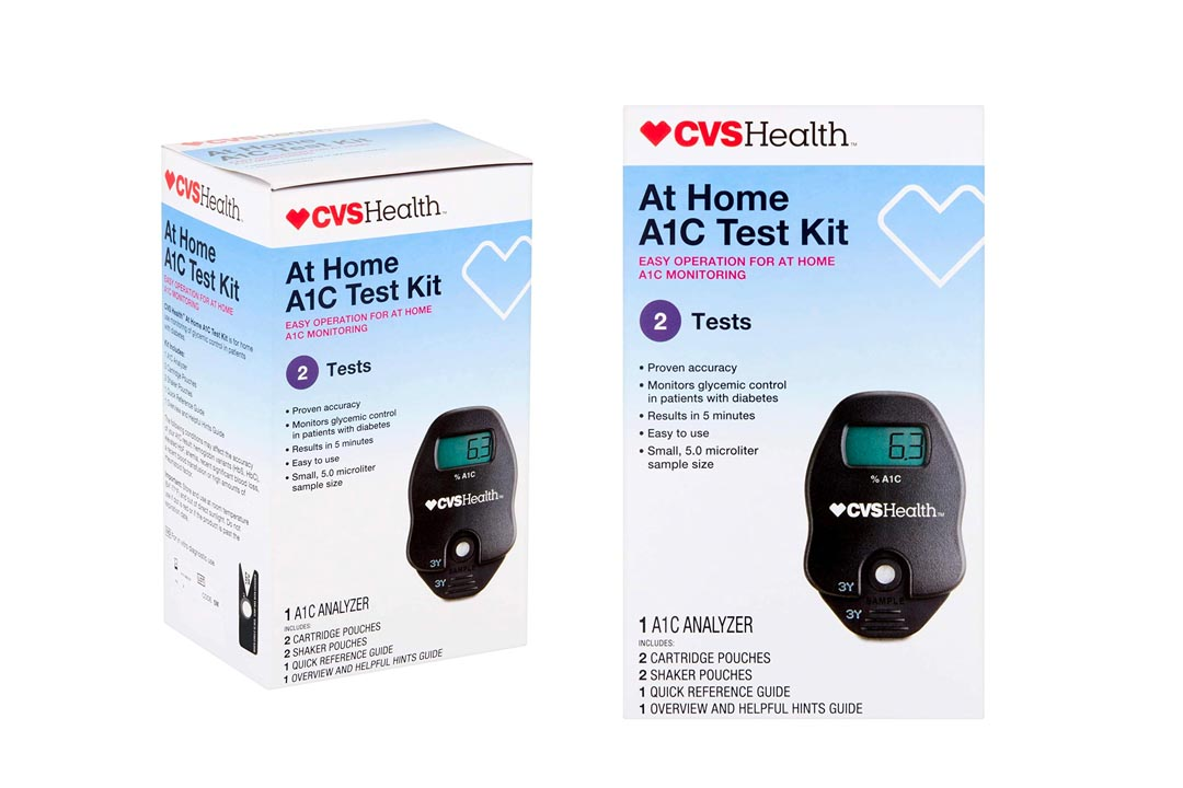 CVS A1C At Home Test Kit
