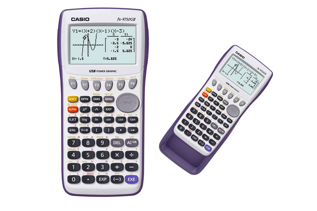 Casino FX-9750GII Graphing Calculator