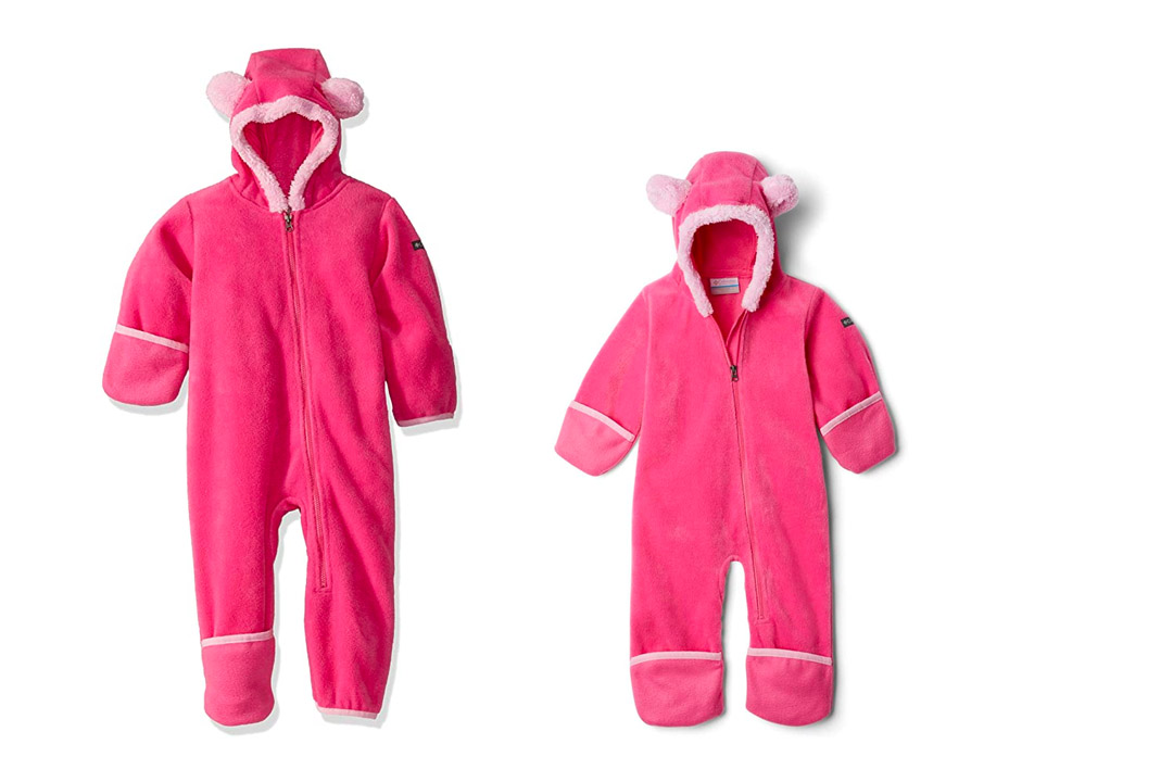 Columbia baby tiny Bear Bunting
