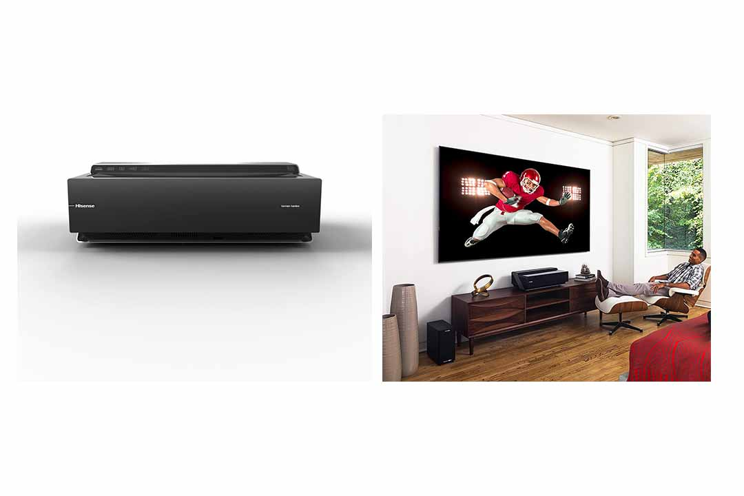 Hisense 100 inch Ultra Smart Laser TV 100L8D