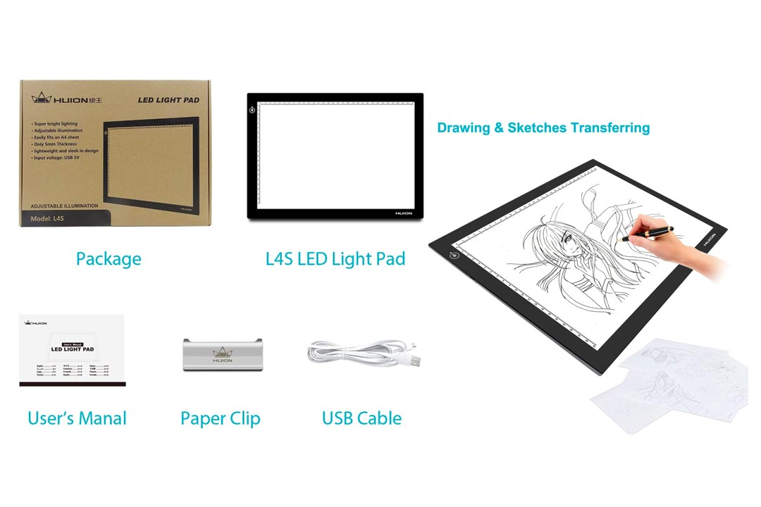 Huion L45 17.7 Inches LED Light Box