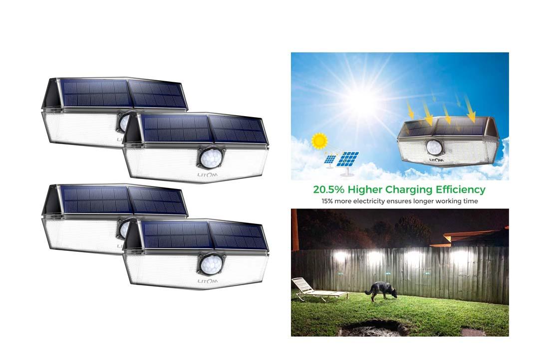 LITOM Premium Solar Lights