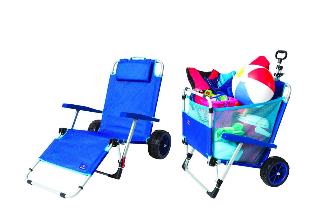 Mac Sports 2-In-1 Outdoor beach cart