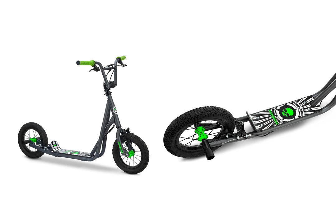 Mongoose Expo Youth Scooter, Front and Rear Caliper Brakes