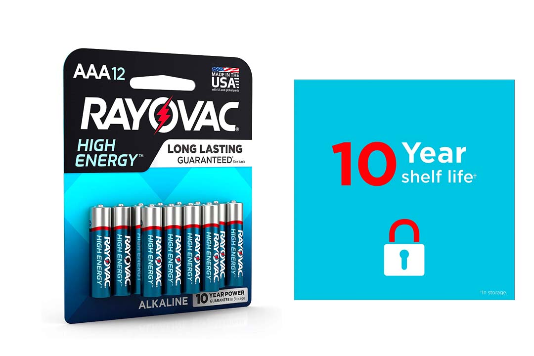 Rayovac AAA Batteries, Alkaline Triple A Batteries