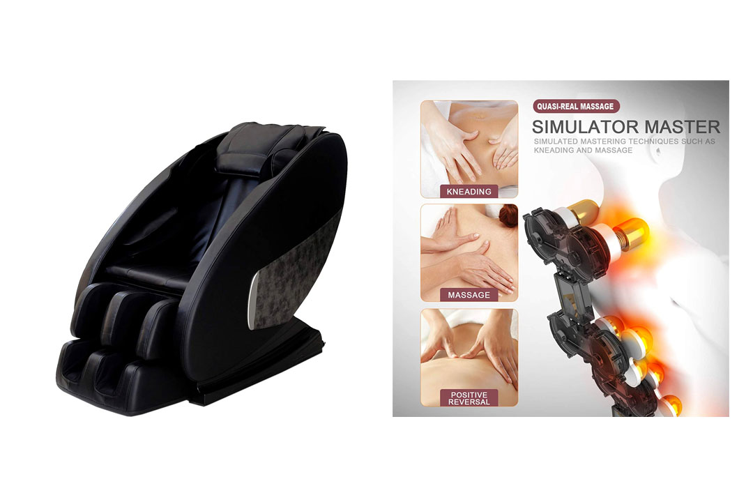 Shiatsu Massager with Heat and Foot Rollers