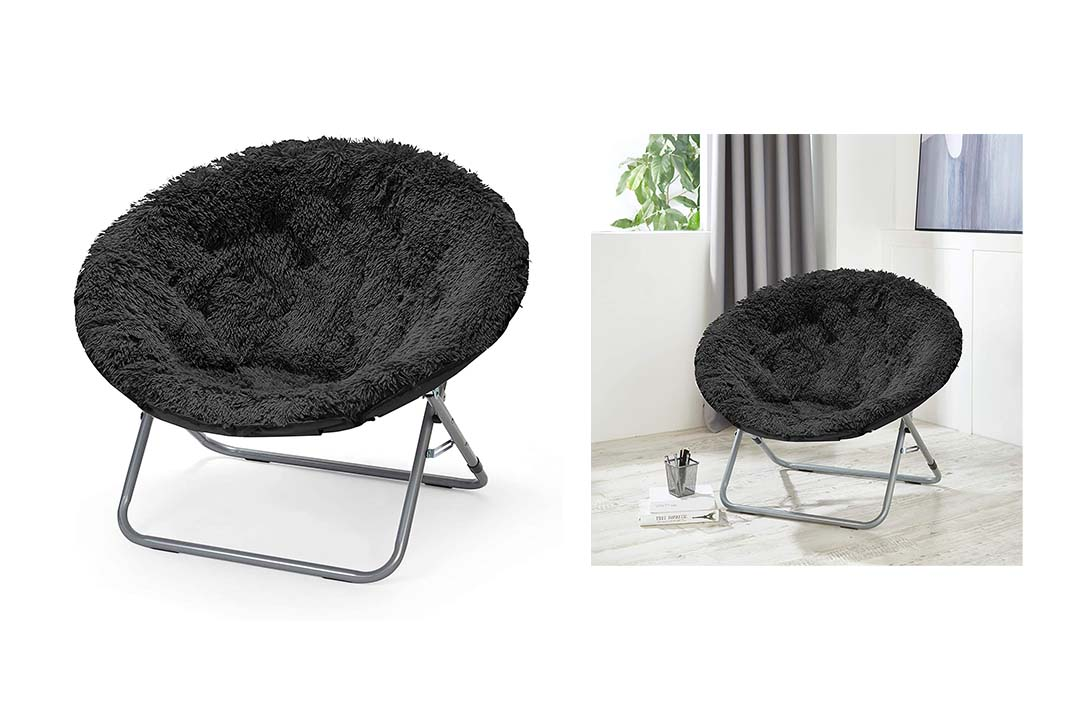 Urban Shop Oversized Mongolian Saucer Chair