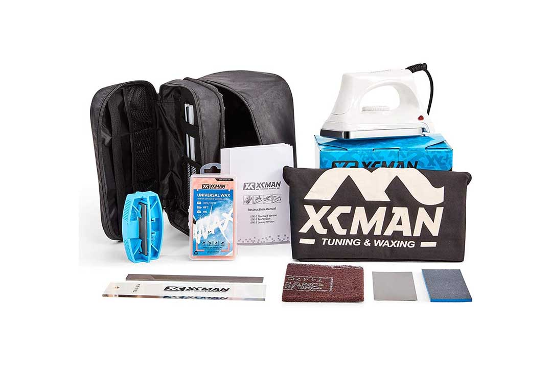 XCMAN Completes Ski Snowboard Tuning also Waxing Kit