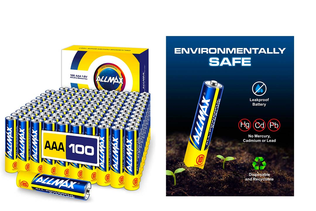 ALLMAX All-Powerful Alkaline Batteries
