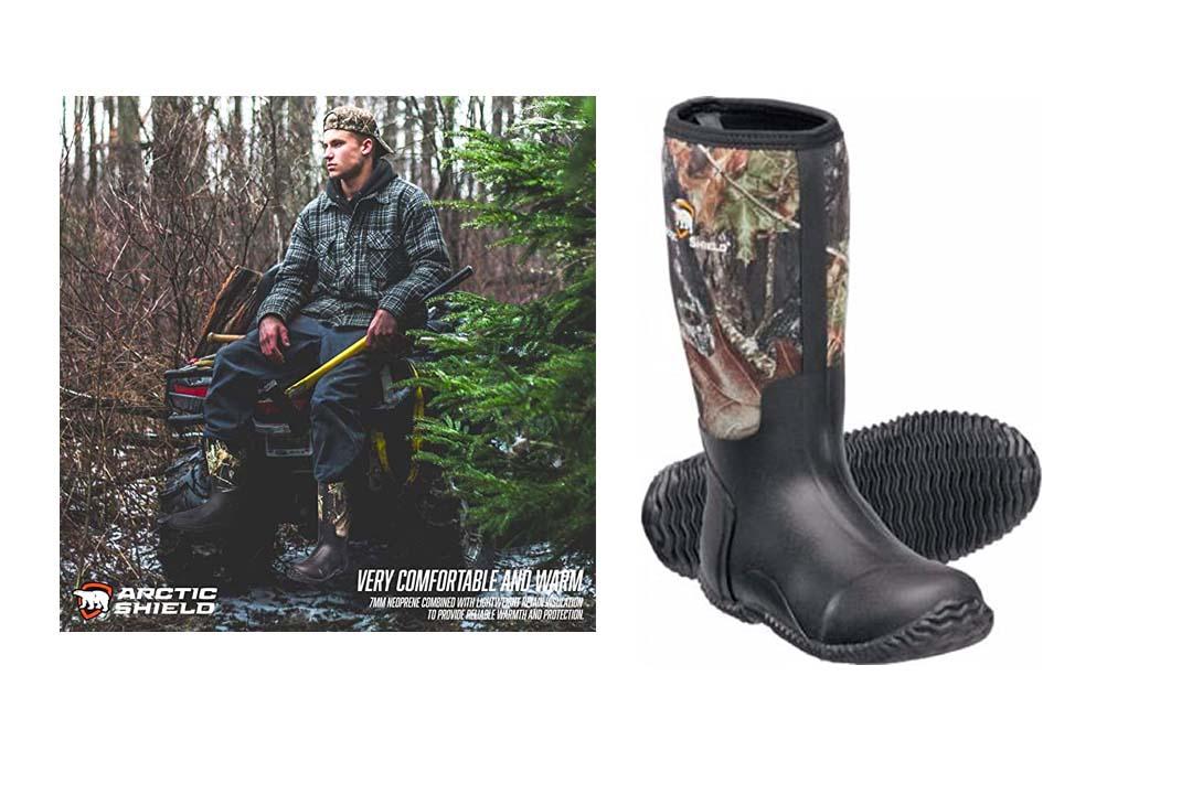 ArticShield Men's Waterproof Durable Insulated Outdoor Boots