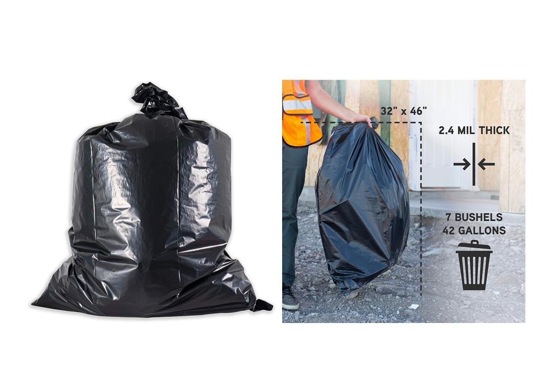 Aserson Heavy Duty Contractor Trash Garbage Bags