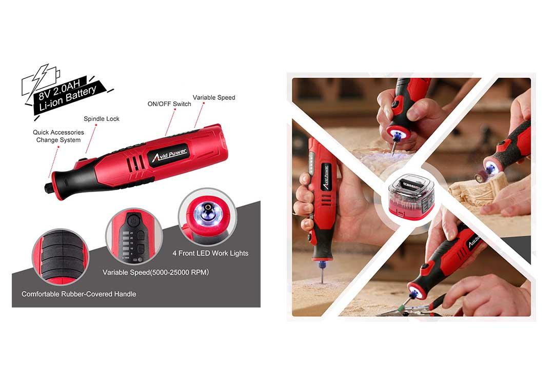 Avid Power Cordless Rotary Tool