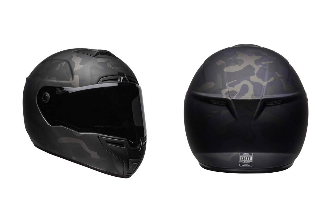 Bell SRT Street Motorcycle. Helmet
