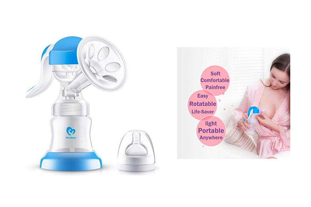 Bellababy 2 Pieces Manual Breast Pump Kit