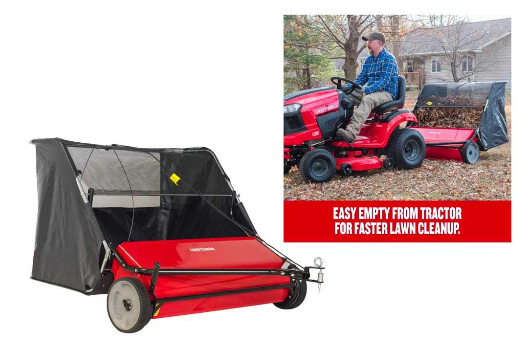 Craftsman CMXGZBF7124266 42 Inch High Speed Two lawn Sweeper