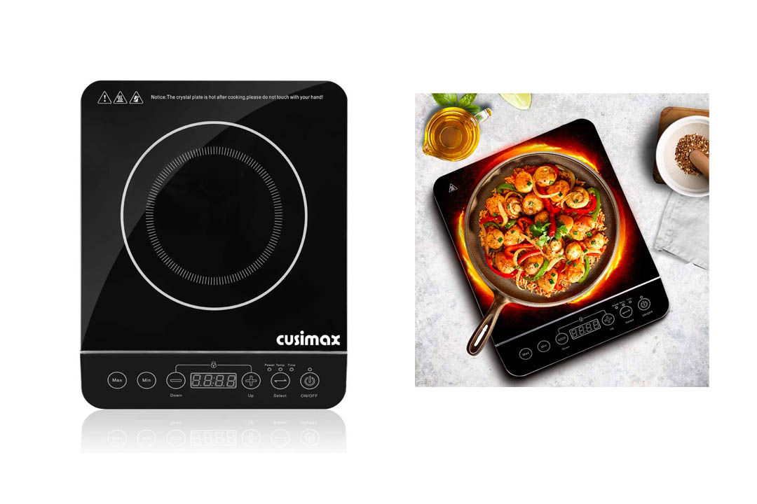 Cusimax 1800W Induction Cooktop